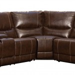 Homelegance 3 Piece Bonded Leather Sectional Reclining Sofa
