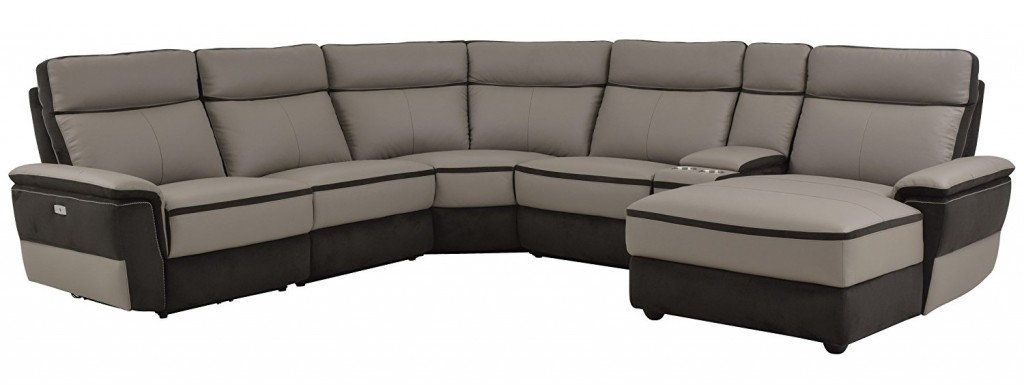 Homelegance Laertes 6 Piece Power Reclining Sectional Sofa