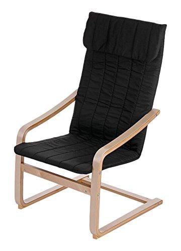 IKAYAA Reclining Bentwood Chair