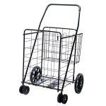 Jumbo Deluxe Folding Shopping Cart