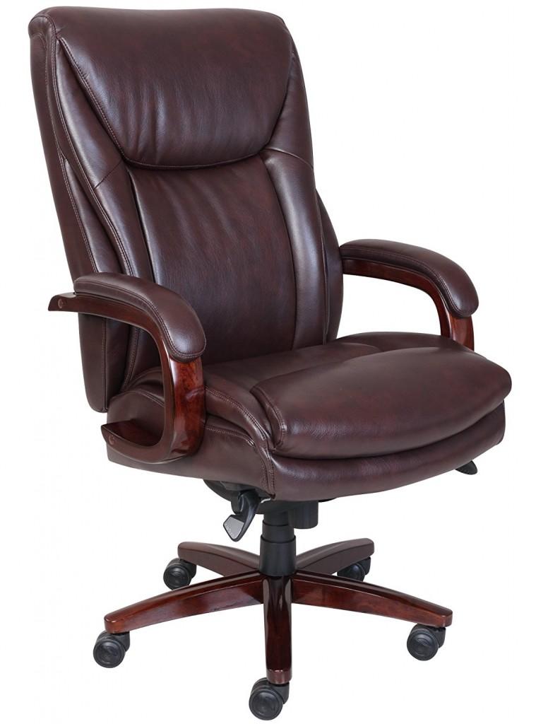 La Z Boy Edmonton Leather Office Chair