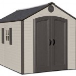 Lifetime Outdoor Shed 60056 8x10 Ft