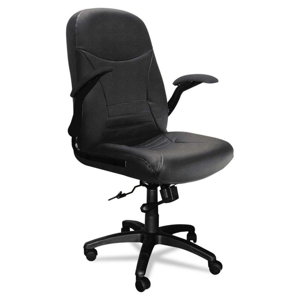 Mayline 6446AGBLT Big & Tall Series Executive Pivot Arm Chair