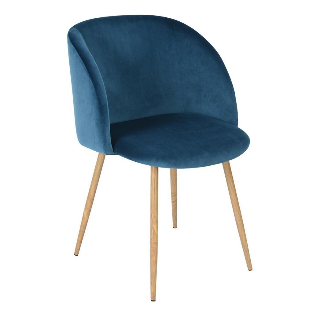 Mid Century Velvet Living Room Accent Armchair