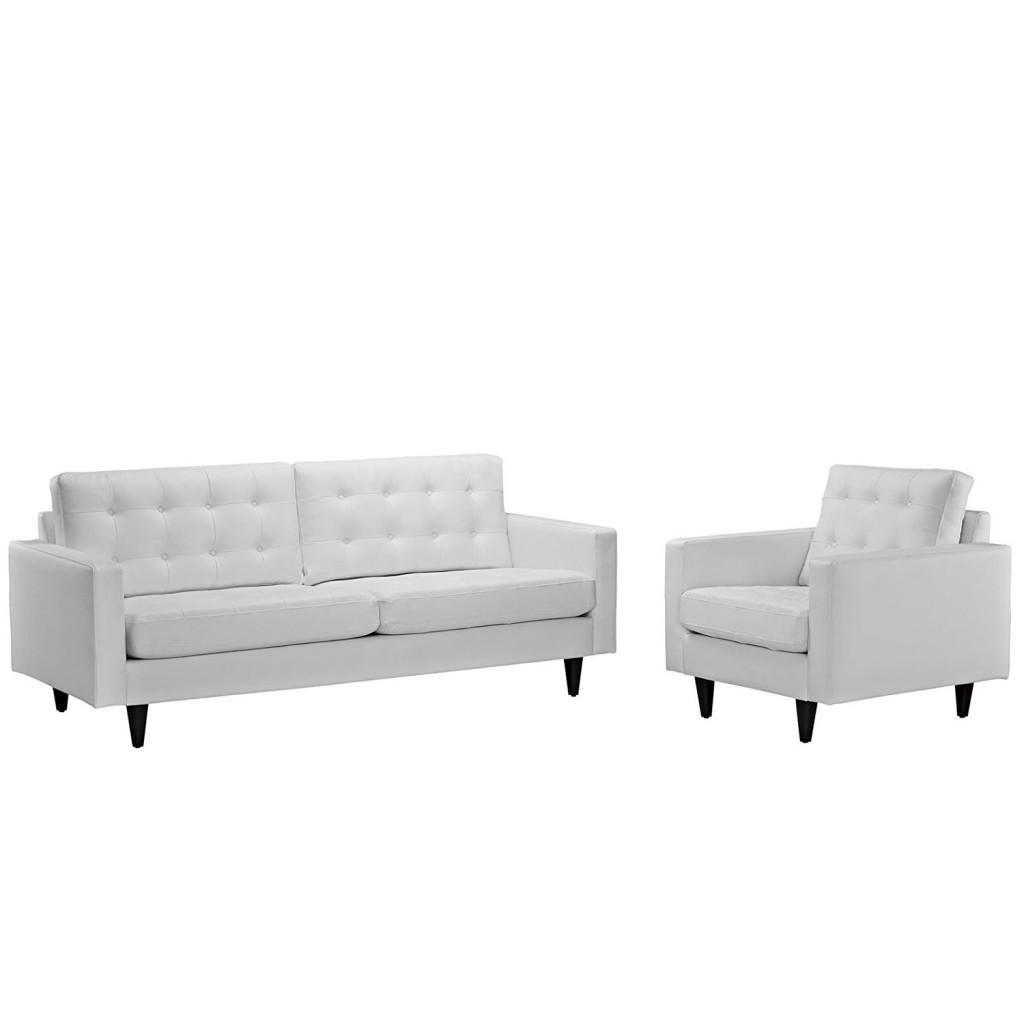 Modern Contemporary Sofa And Armchair Set