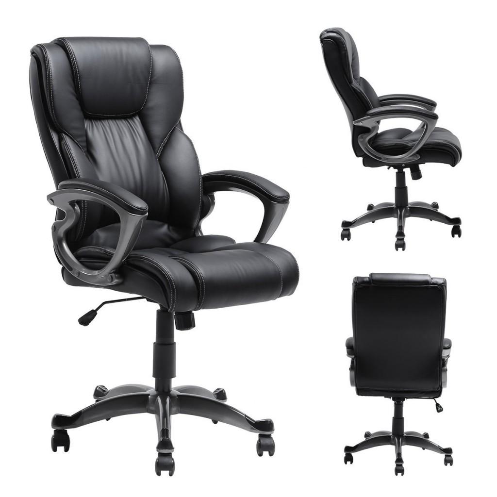 Myka's Ergonomic Leather Executive Office Chair
