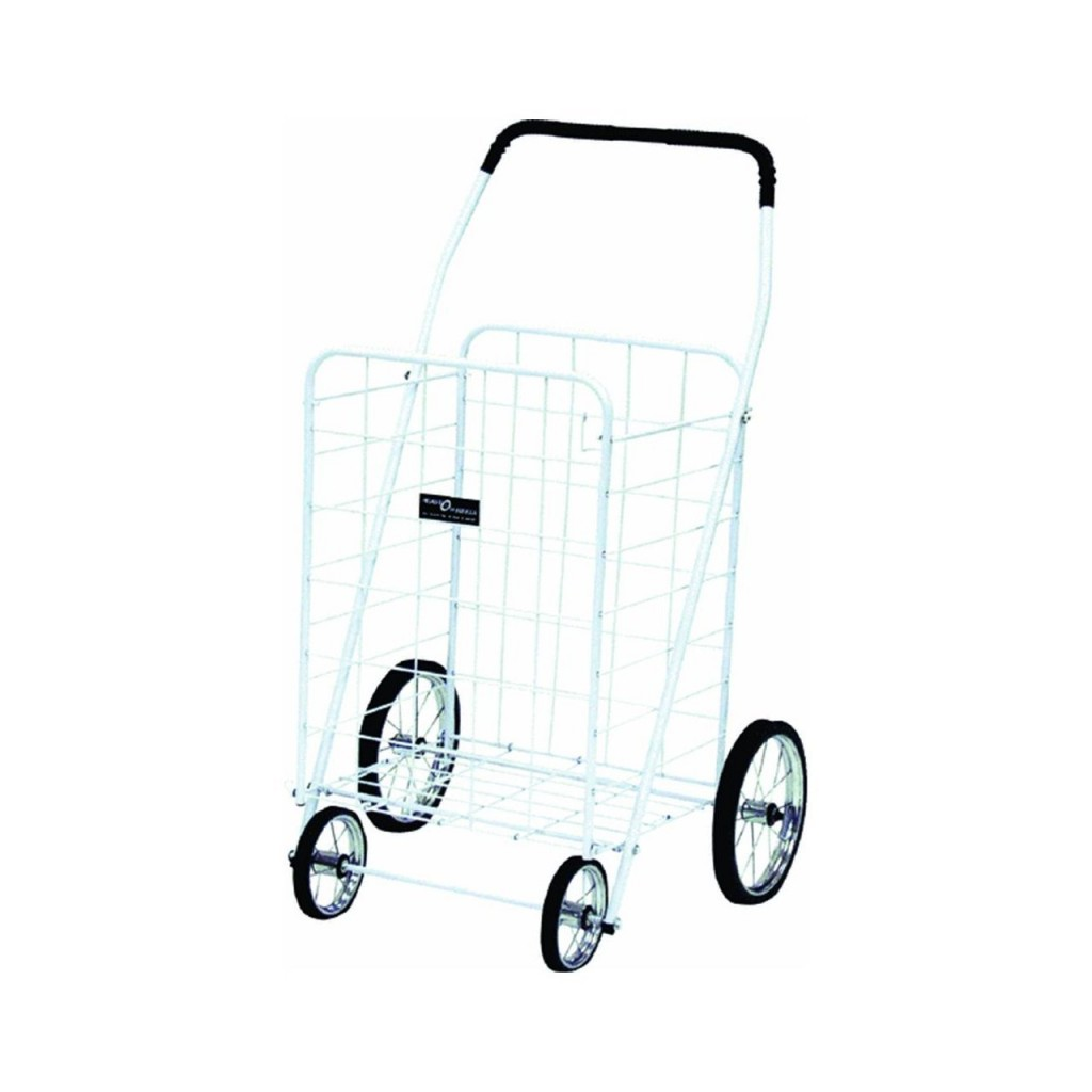 Narita Jumbo Shopping Cart Color White
