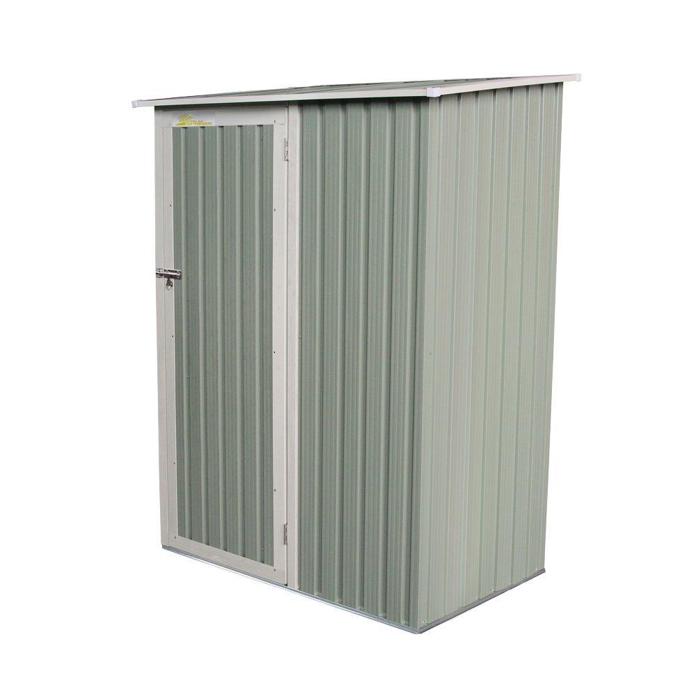 Palm Springs Metal Galvanized Steel Storage Shed