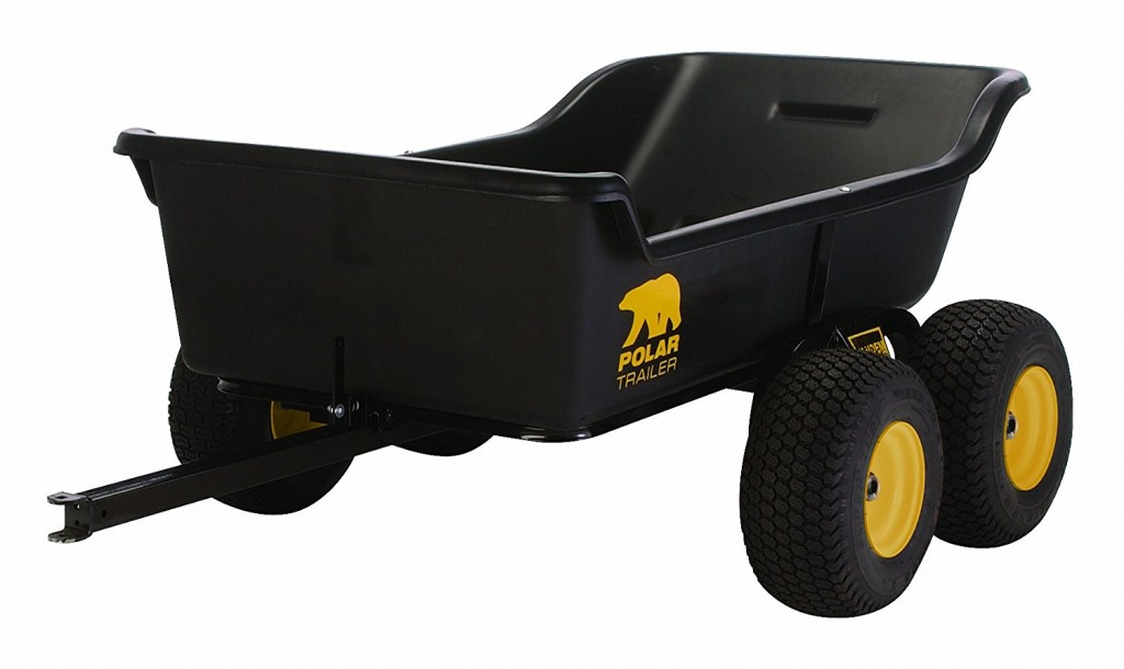 Polar Trailer 8262 HD 1500 Tandem Axle Utility Cart