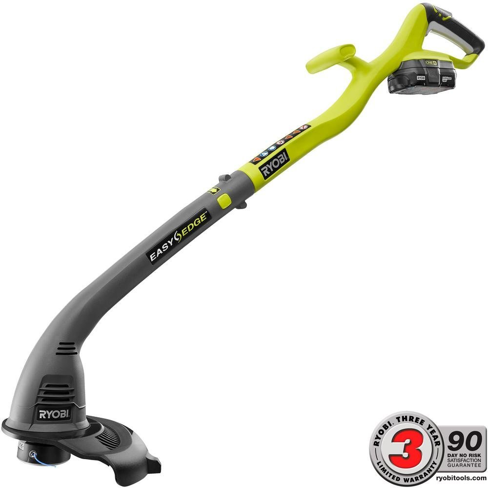 Ryobi One+ 18 Volt Lithium Ion Cordless Electric String Trimmer