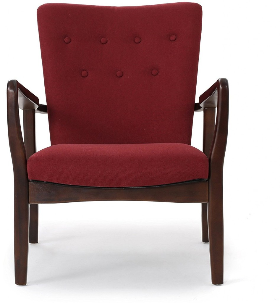 Suffolk French Style Fabric Arm Chair