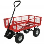Sunnydaze Utility Cart