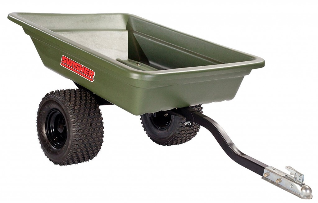 Swisher 12007 16 Cubic Feet ATV Poly Dump Cart