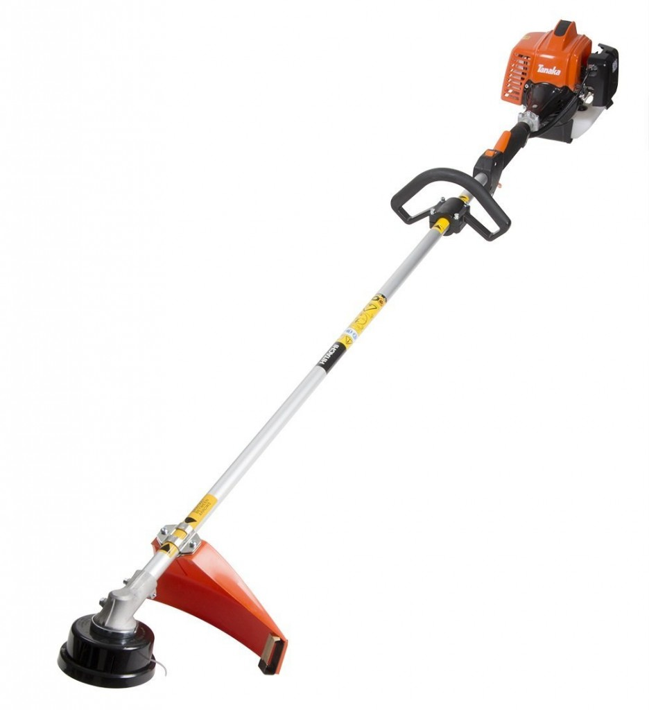 Tanaka TCG23ECPSL 22.5cc 2 Cycle Gas Powered Solid Steel Drive Shaft String Trimmer