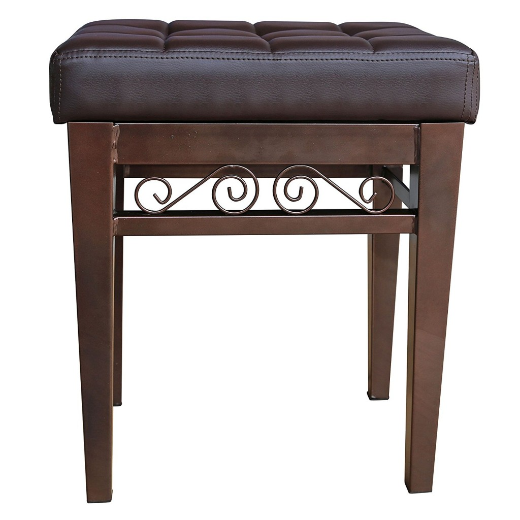 Crownroyaljack Furniture Square Piano Bench
