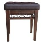 Crownroyaljack Furniture Square Piano Bench