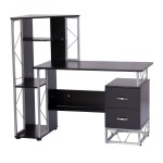 L Shaped Desk With Hutch Walmart
