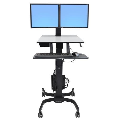 Ergotron WorkFit C Dual Sit Stand Workstation