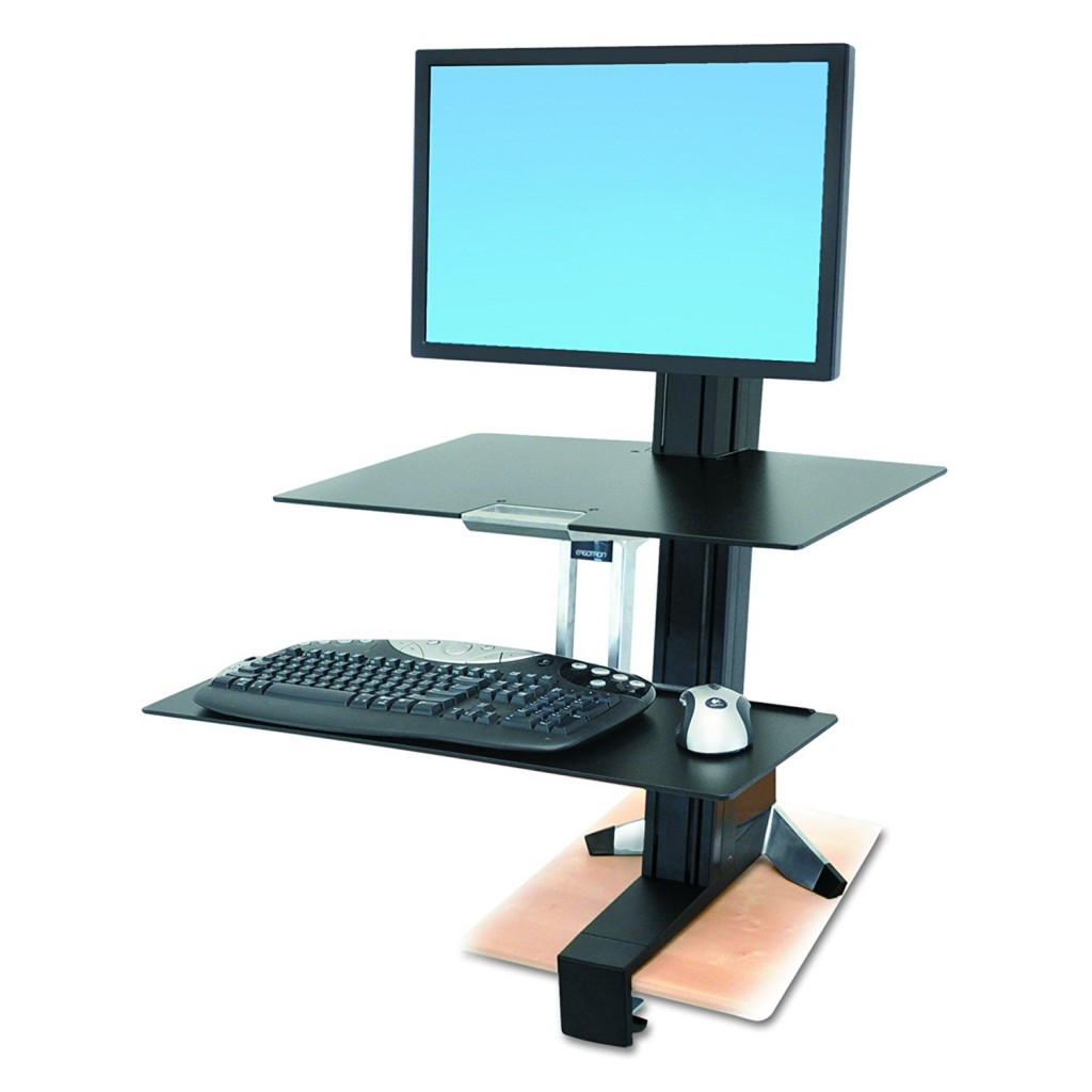 Ergotron WorkFit S Single HD Workstation