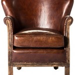 Moe's Home Collection Libby Leather Club Chair