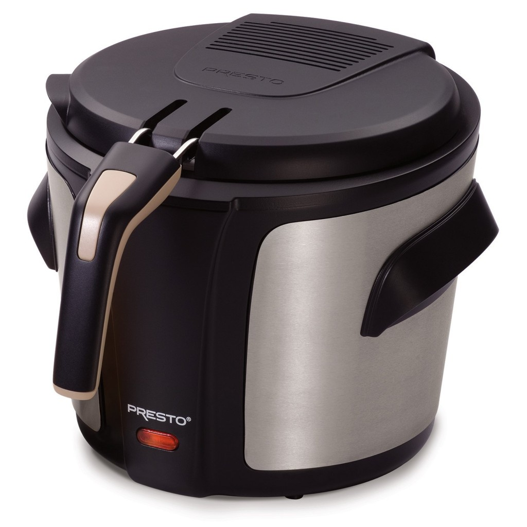 National Presto 05401 Stainless Steel Electric Deep Fryer