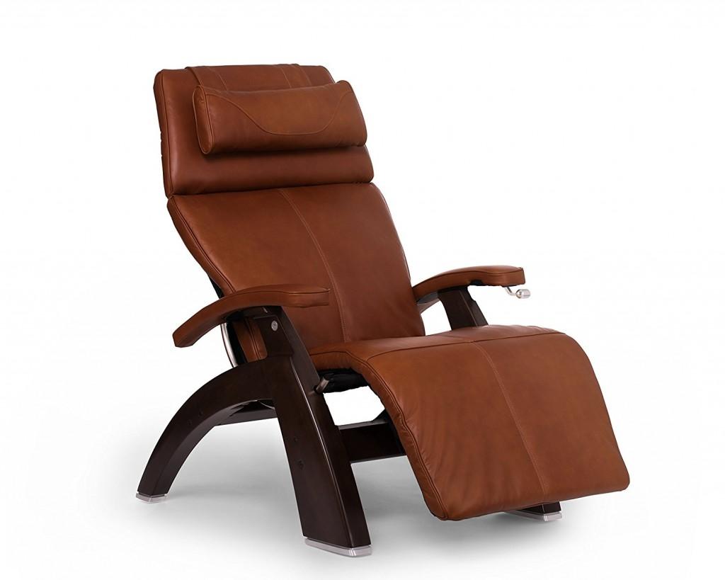 Perfect Chair PC 420 Zero Gravity Dark Walnut Manual Recliner