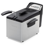 Presto 05462 Digital ProFry Immersion Element 9 Cup Deep Fryer
