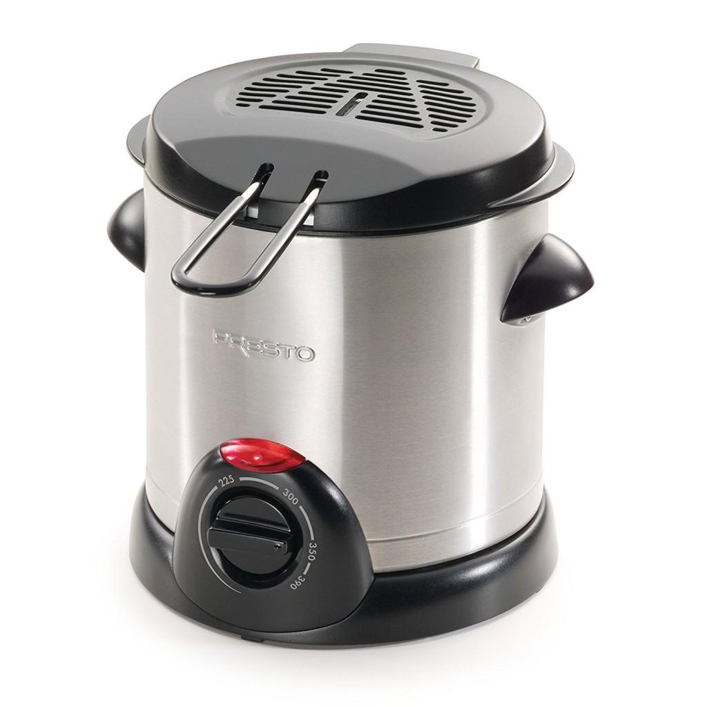 Presto 05470 Stainless Steel Electric Deep Fryer