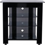 Sanus Systems SF A29B 4 Shelf Audio Video Stand