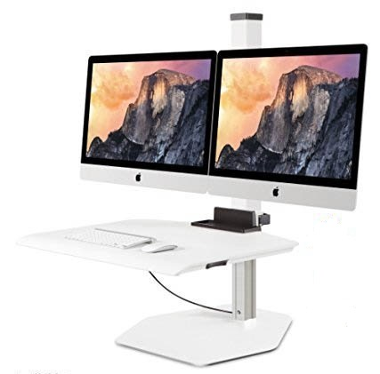 Stand Steady Winston For Apple IMac Dual Sit Stand Desk