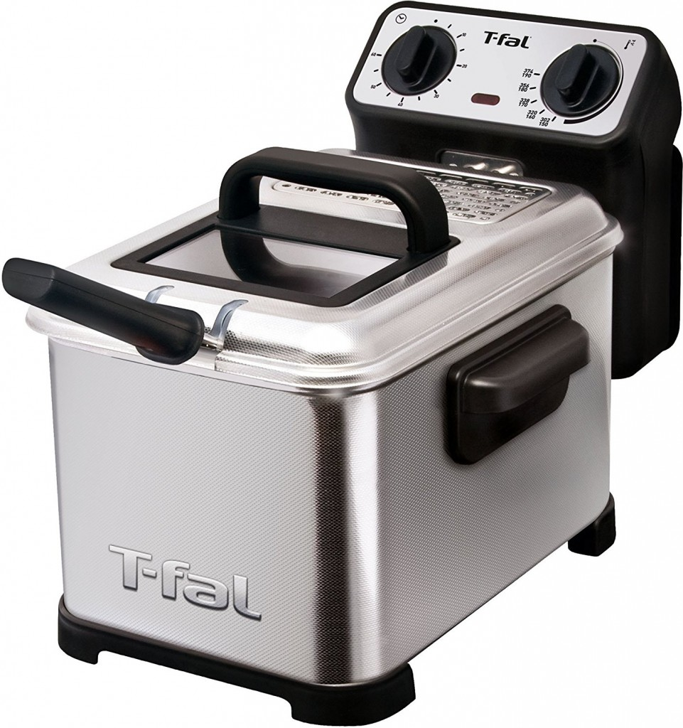 T Fal FR4049 Family Pro 3 Liter Oil Capacity Electric Deep Fryer