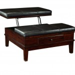 Black Ottoman Coffee Table