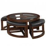 Cushion Ottoman Coffee Table
