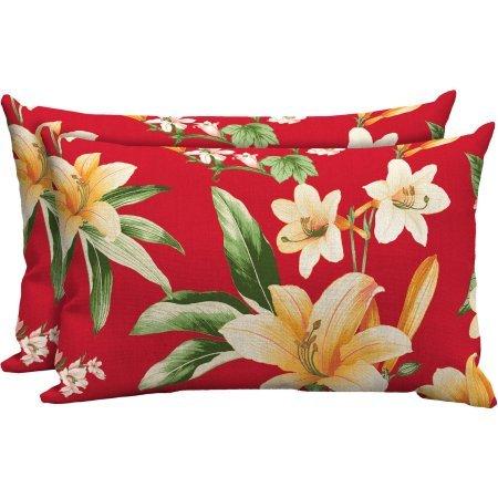 Lumbar Patio Pillows