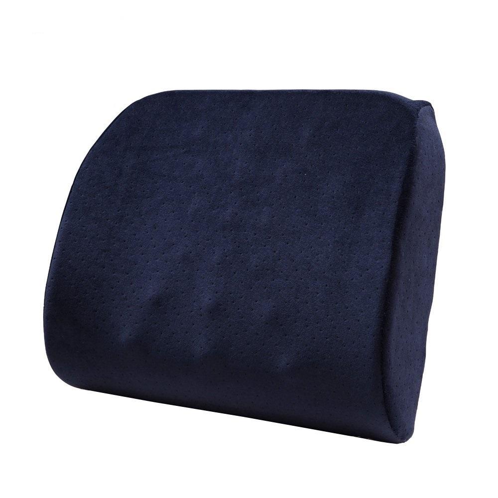 Navy Blue Lumbar Pillow