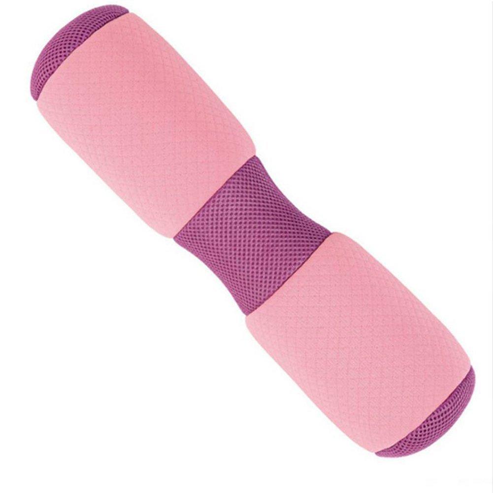 Pink Lumbar Pillow