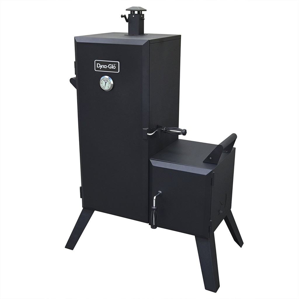 Vertical Offset Charcoal Smoker