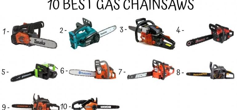 10 Best Gas Chainsaws