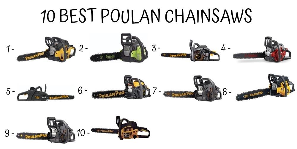 10 Best Poulan Chainsaws