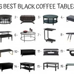 16 Best Black Coffee Tables