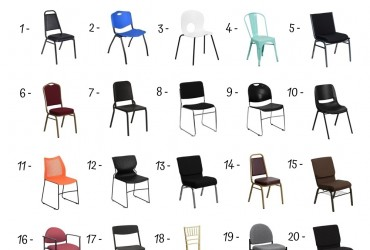 20 Best Stacking Chairs Under 50$