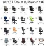 20 Best Task Chairs Under 100$