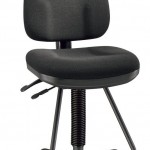 Alvin DC555 40 Black Executive Drafting Height Monarch Chair