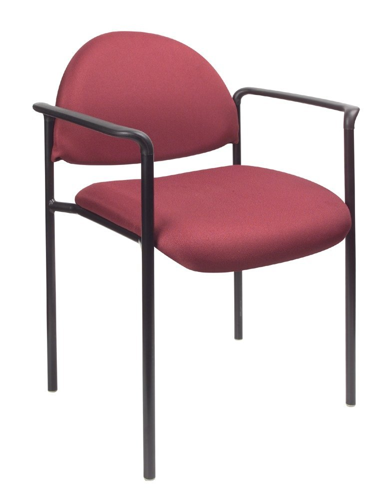 Boss Office Products B9501 BY Dimond Fabric Stacking Chair
