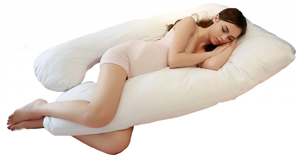 Jan Butterfly U Shape Total Body Pregnancy Maternity Pillow