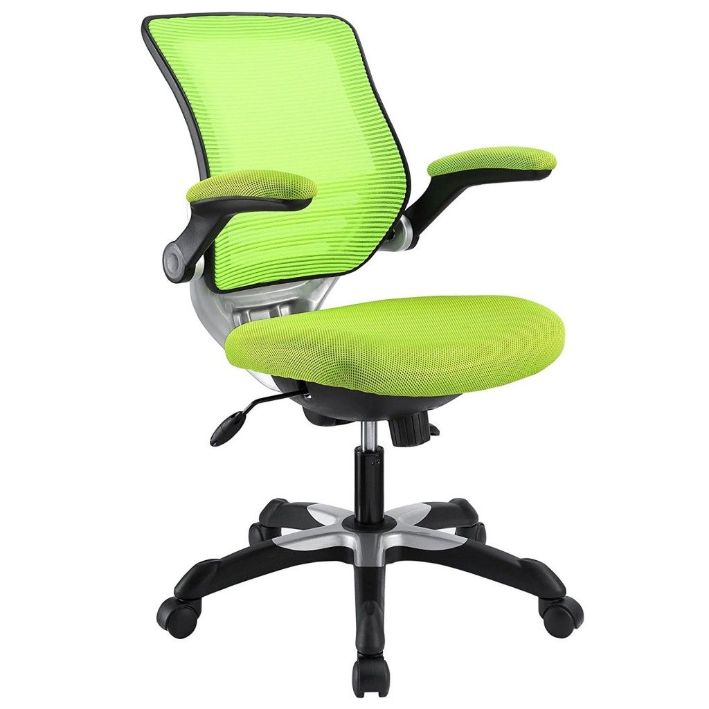 Modway Edge Mesh Back And Green Mesh Seat Office Chair