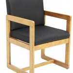 Regency Belcino Sled Base Side Chair With Arms