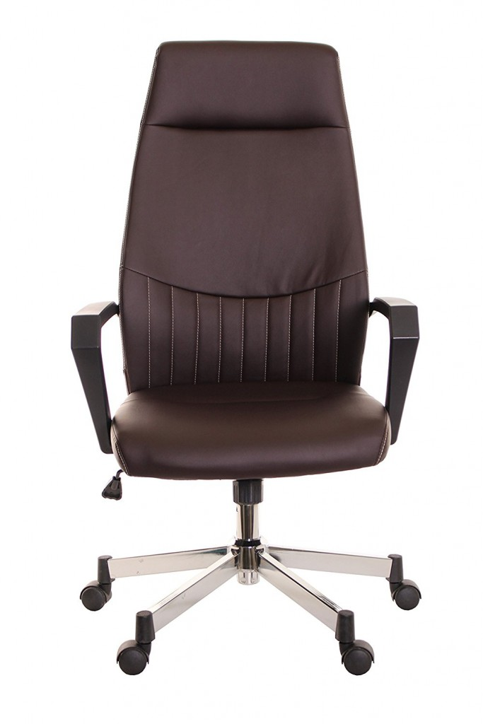 TimeOffice Ergonomic High Back Task Office Chair With Arms