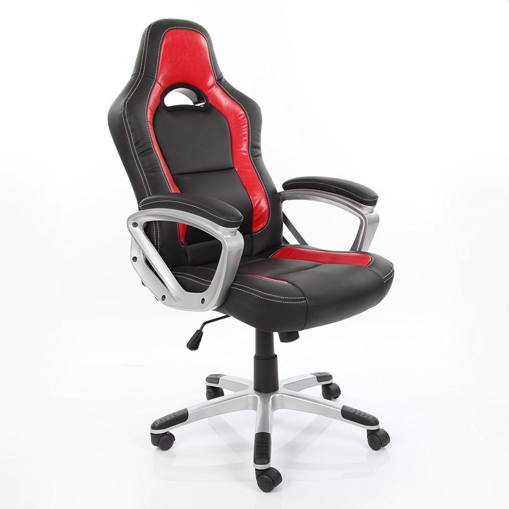 VECELO Computer Office Pu Task Chair 360 Degree Swivel