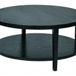 Black Contemporary Coffee Table